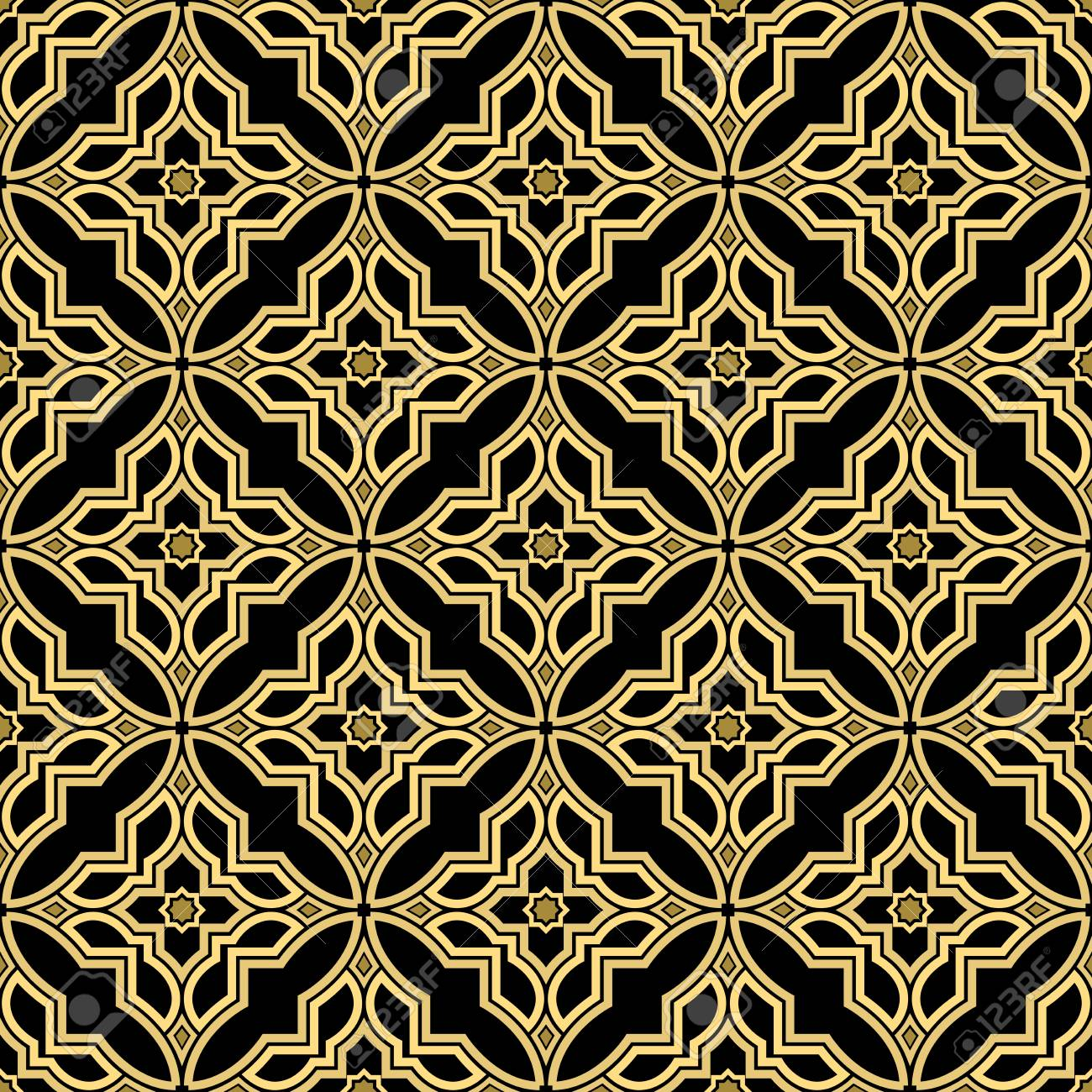 abstract geometry pattern in arabian style seamless vector background royalty free cliparts vectors and stock illustration image 97896750 abstract geometry pattern in arabian style seamless vector background