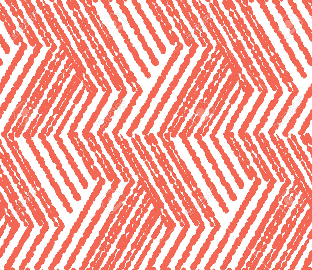 Abstract geometric pattern with stripes, lines. Seamless vector background. White and pink ornament. Simple lattice graphic design - 169878881