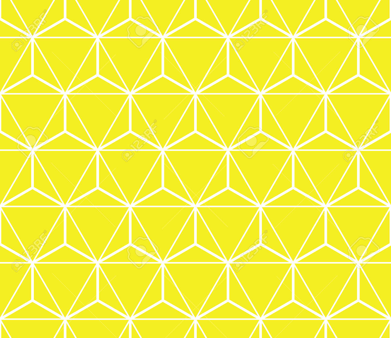 Abstract geometric pattern. A seamless vector background. White and yellow ornament. Graphic modern pattern. Simple lattice graphic design - 169878895