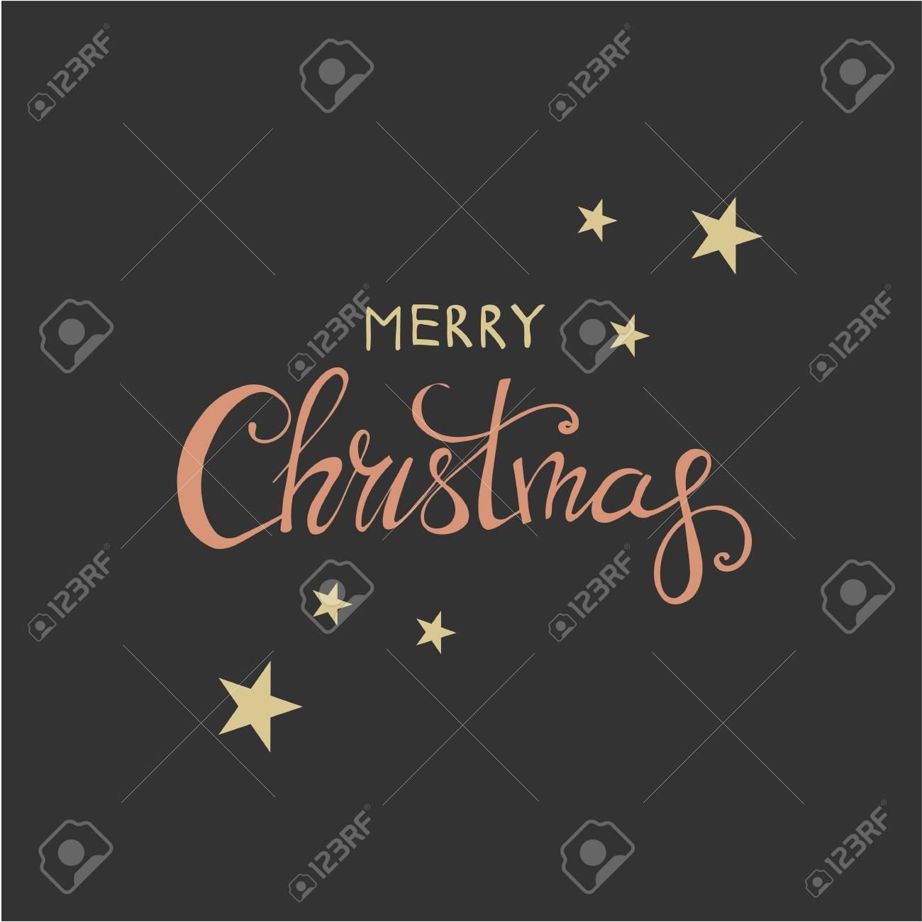 Frohe Weihnachten Schriftzug Design. Frohes Neues Jahr. Helle Farben ...