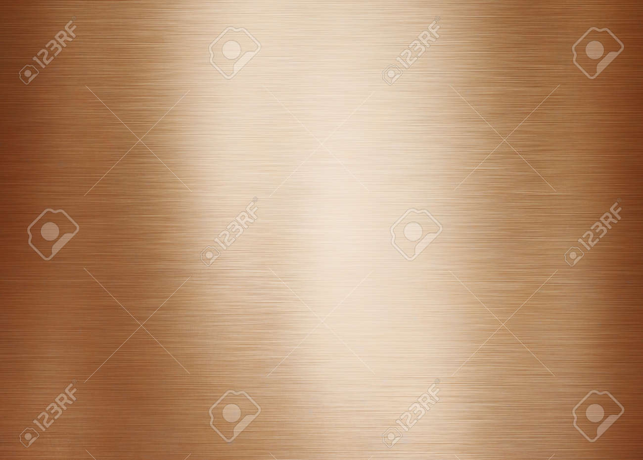 Gold or brass brushed metal background or texture - 154067682