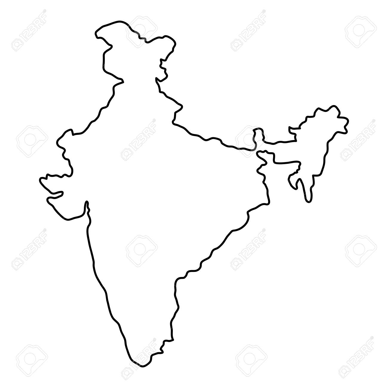 India map of black contour curves of vector illustration on america map drawing, haiti map drawing, qatar map drawing, japan map drawing, trinidad map drawing, netherlands map drawing, nigeria map drawing, jamaica map drawing, norway map drawing, south carolina map drawing, ecuador map drawing, roman empire map drawing, finland map drawing, germany map drawing, panama map drawing, galapagos islands map drawing, israel map drawing, thailand map drawing, fertile crescent map drawing, pacific ocean map drawing,