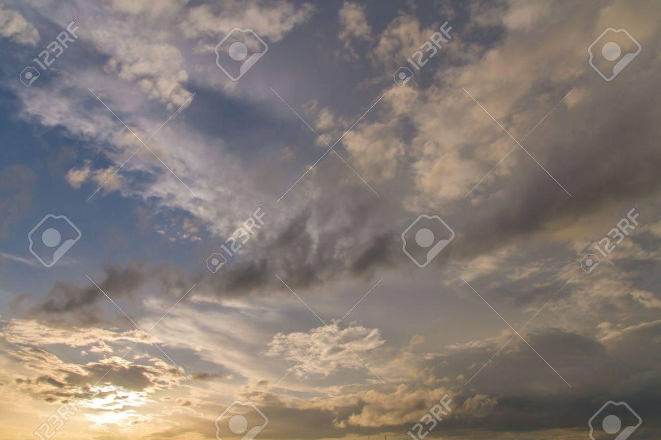 Sunset sky Heaven Beauty Religious Concept Background - 20882899