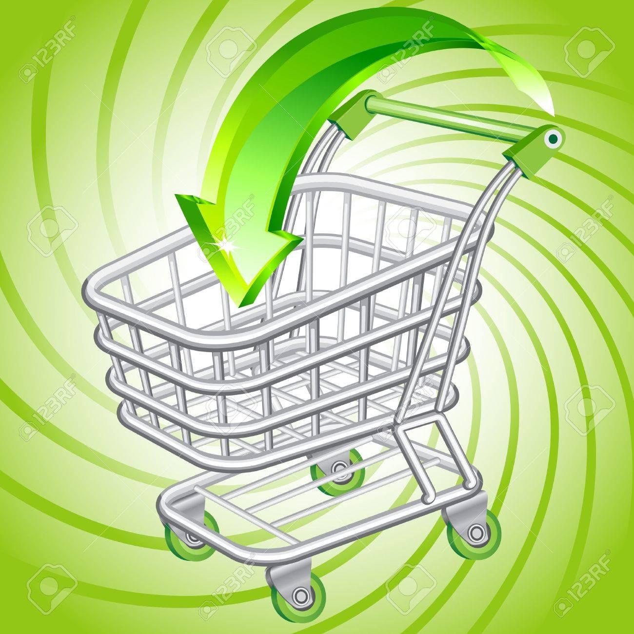 Shopping cart - 12798756