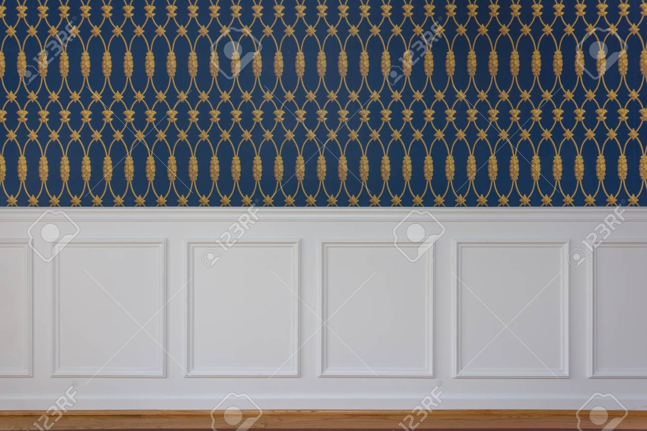 Awe Inspiring White Rectangle Wood Paneling With Trim Chair Guard Blue And Uwap Interior Chair Design Uwaporg
