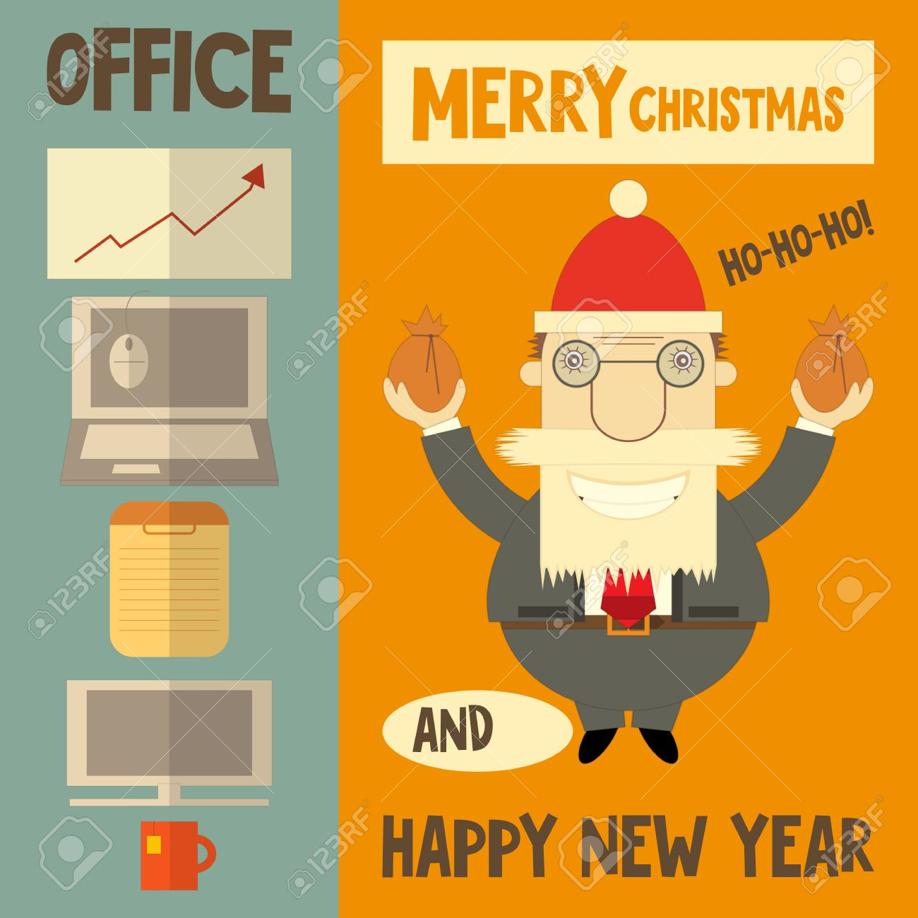 Christmas card for boss funny christmas cards 2018 christmas card for boss funny kristyandbryce Image collections