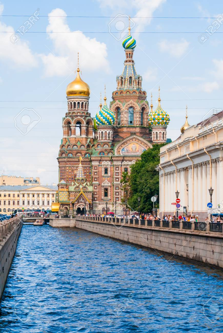 Church of the Savior on blood in Saint-Petersburg - 36489702