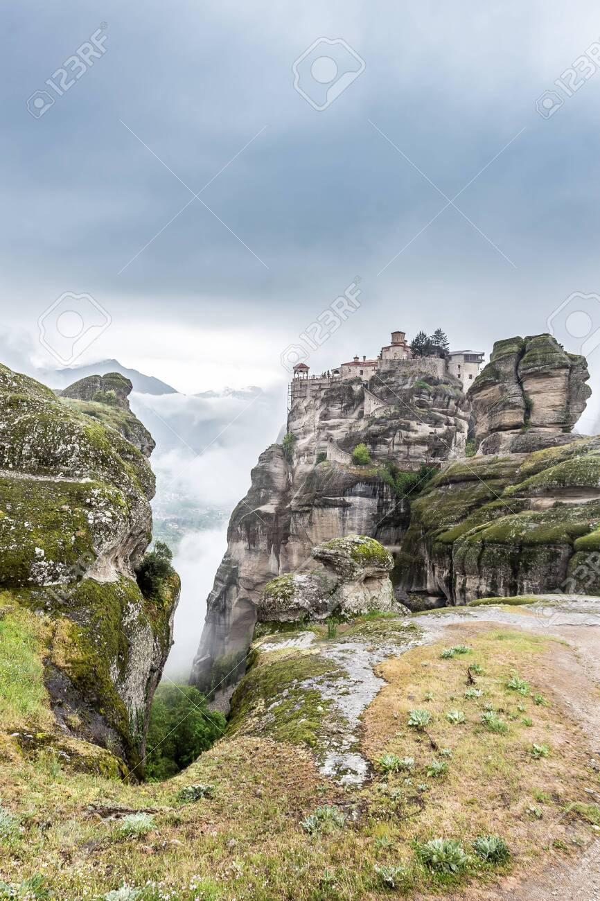 Rocks monasteries of Meteora, Greece - 148796864
