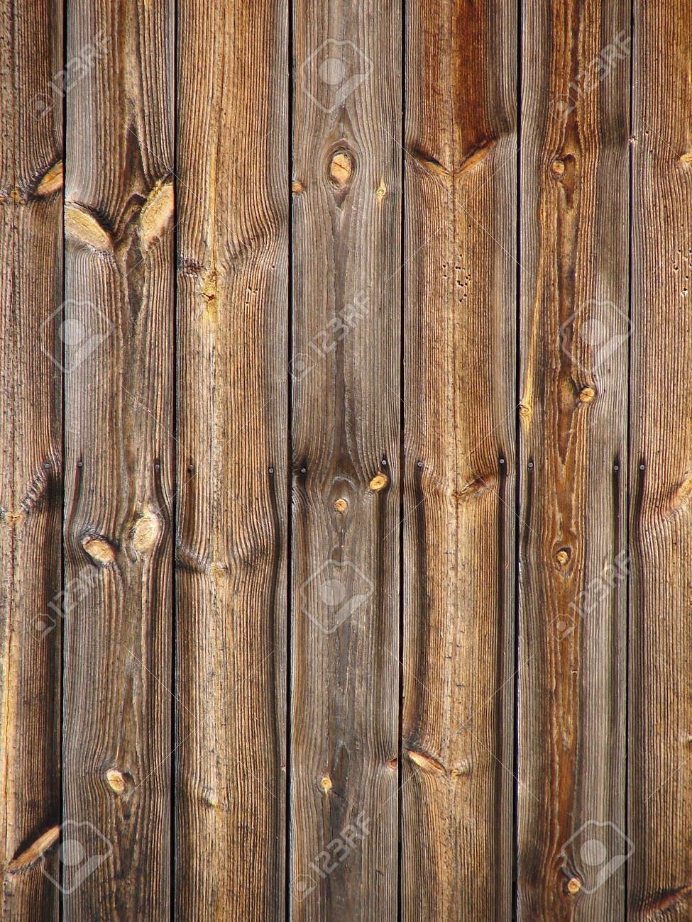Old wooden boards as background - Natural Brown Old Wooden Board Background Vertical Stock Photo 3465900