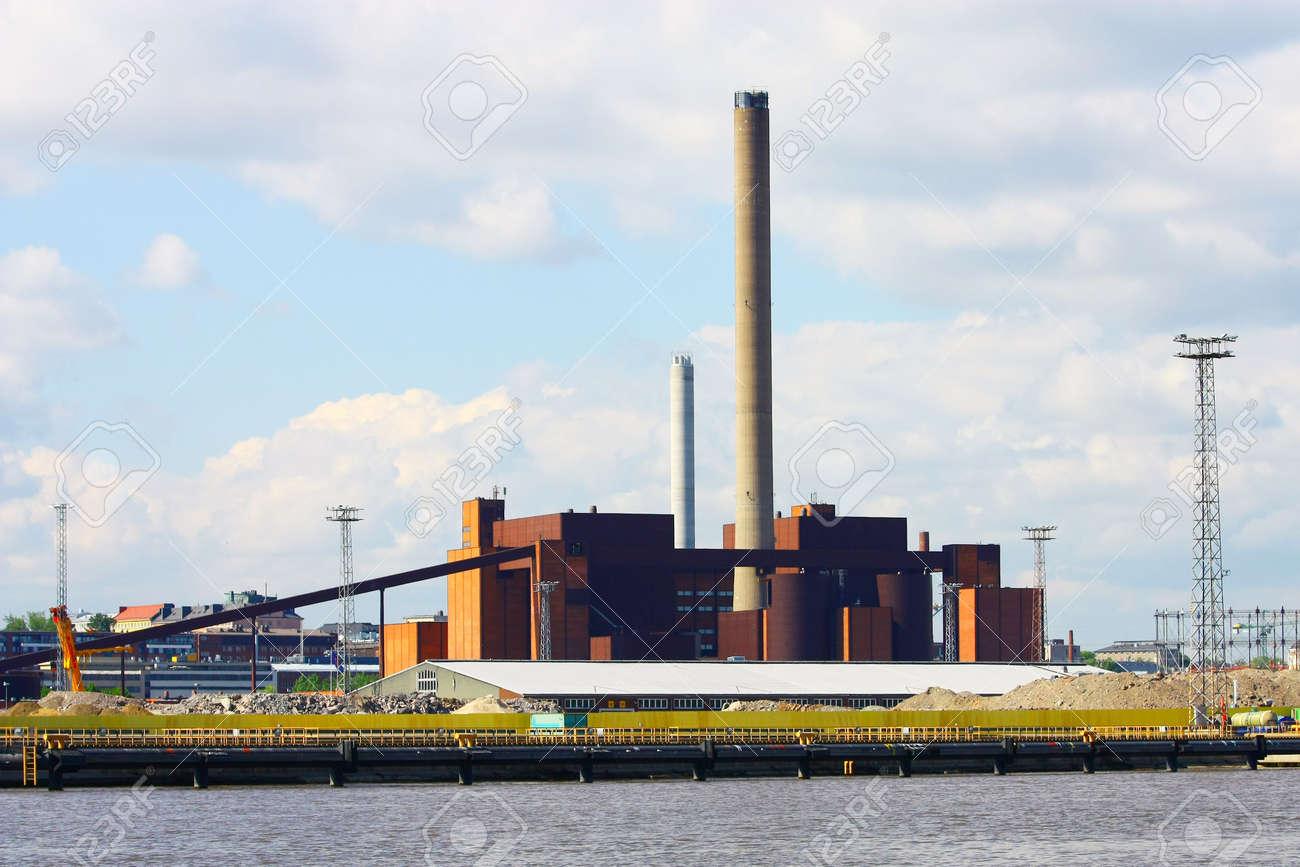 Coal power plant in Helsinki, Finland Stock Photo - 7633576