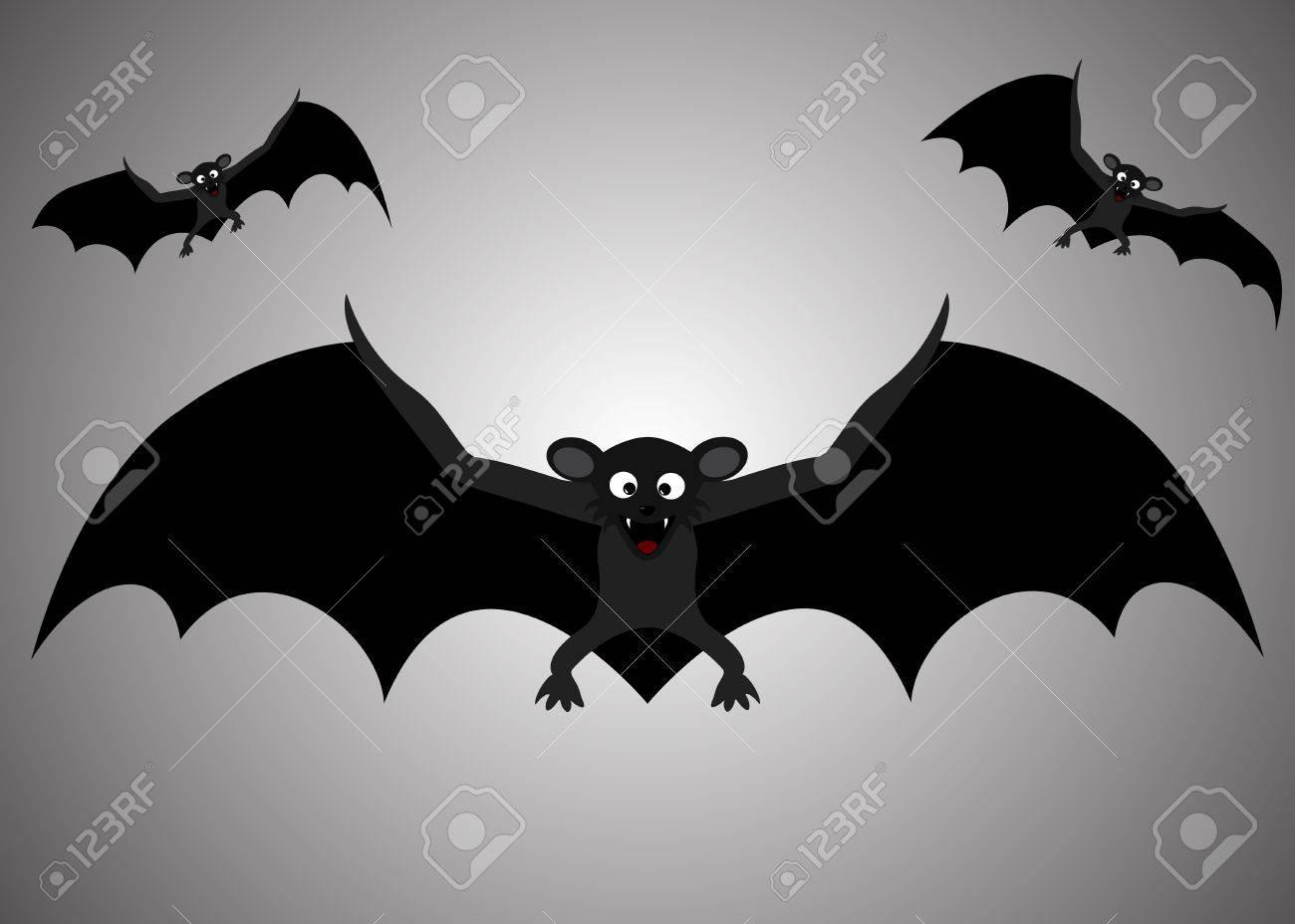 halloween bats flight of a bat vector illustrations stock vector 47530310 - Halloween Pictures Bats