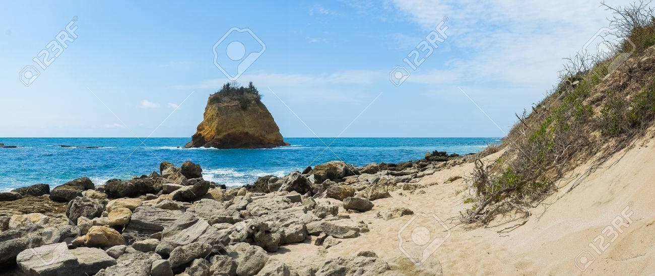 Los Frailes beach in Parque Nacional Machalilla, Puerto Lopez,