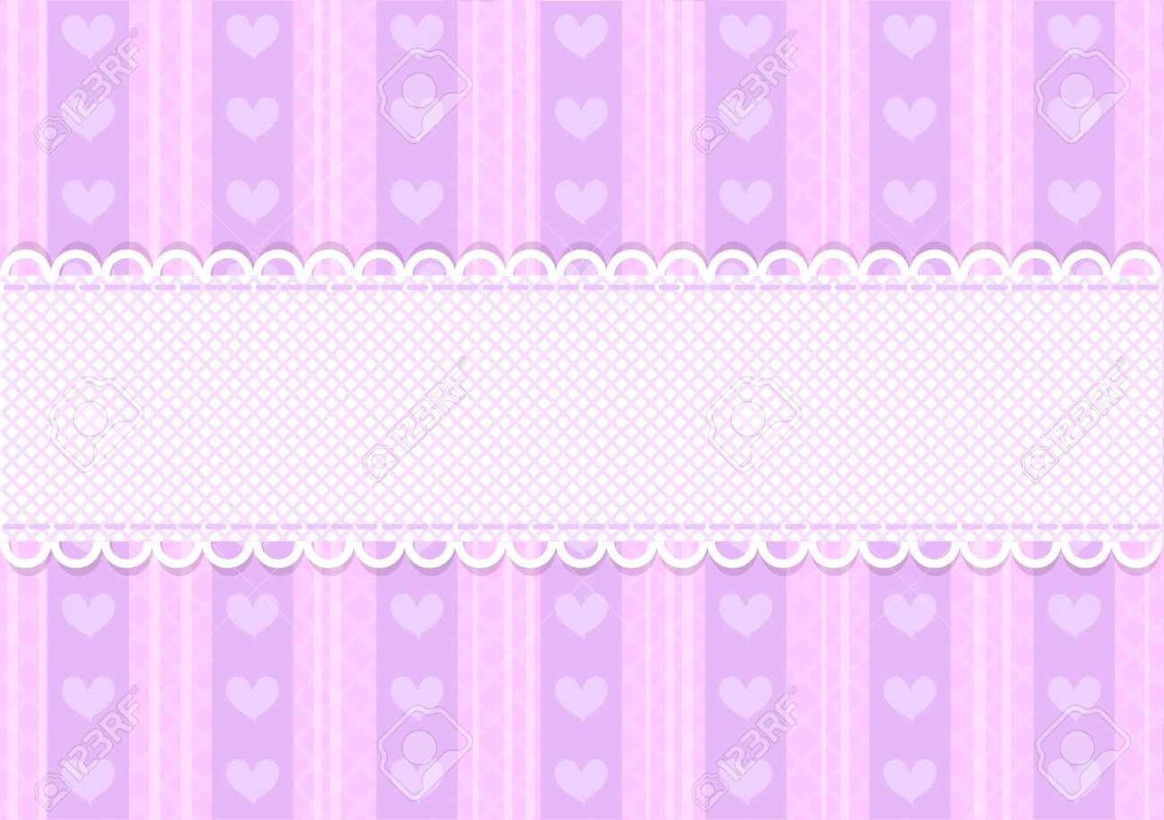 Vector pink and purple cute heart background with copyspace vector pink and purple cute heart background with copyspace stock vector 12680378 voltagebd Choice Image