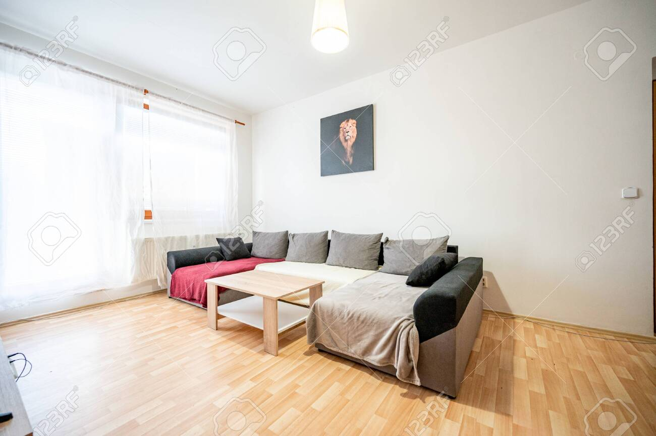 Room in a small apartment. - 153882700