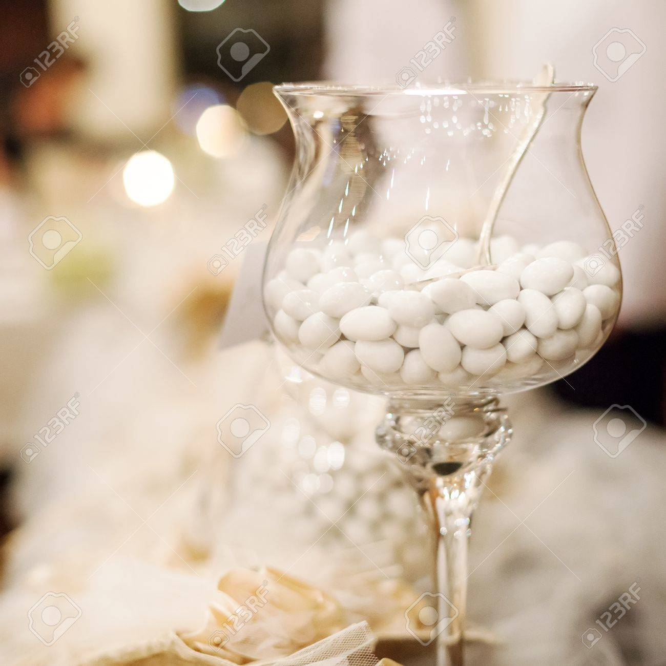 white candy for a wedding Stock Photo - 19583469
