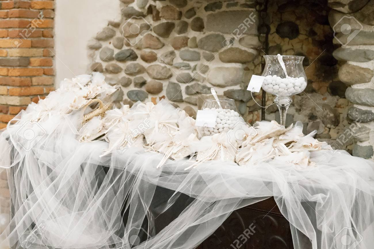 white candy for a wedding Stock Photo - 19583607