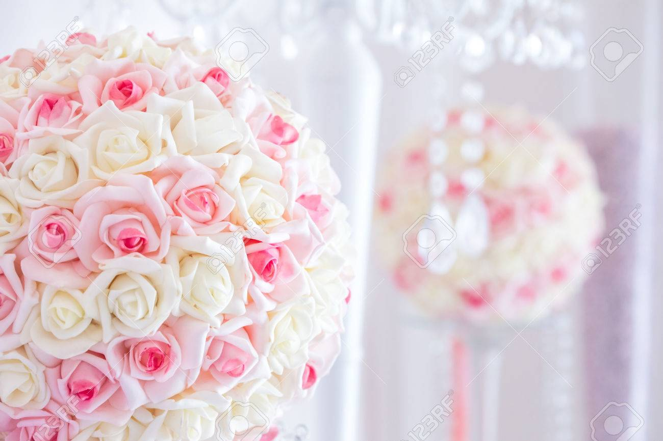 Luxury Centerpieces For Wedding Reception Stock Photo, Picture And ...