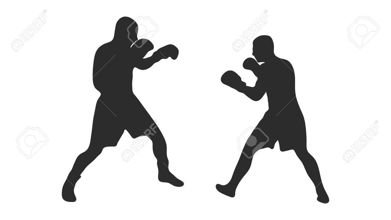 Boxer silhouette - 126609209