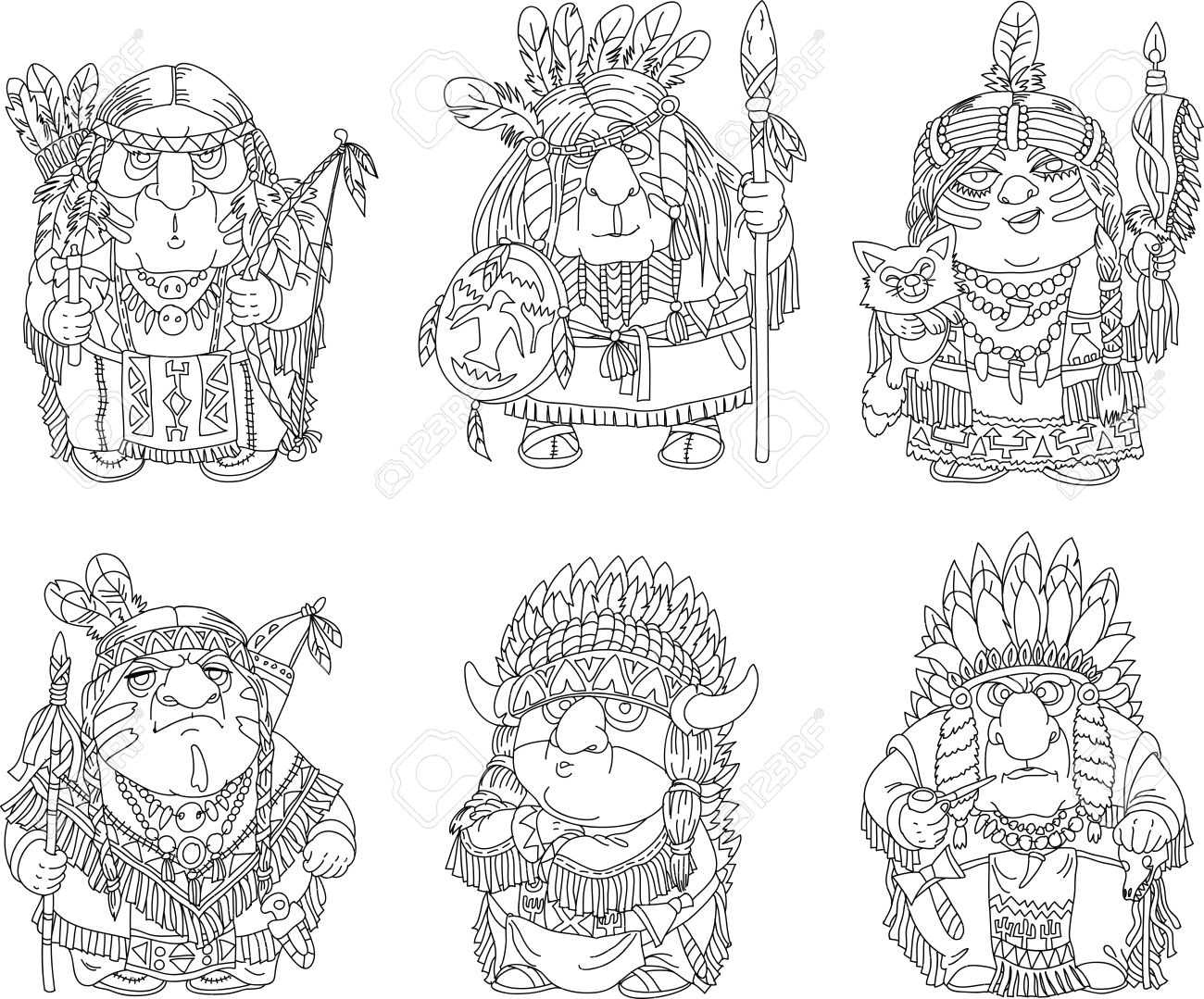 Dibujos Indios. Perfect. Affordable Indios Pintando Su Tipi Dibujo ...