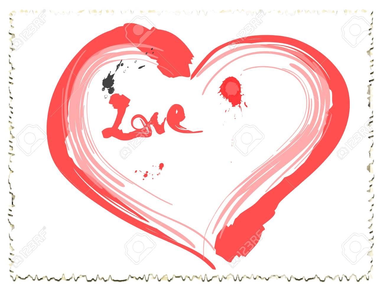 love heart Stock Vector - 17613447
