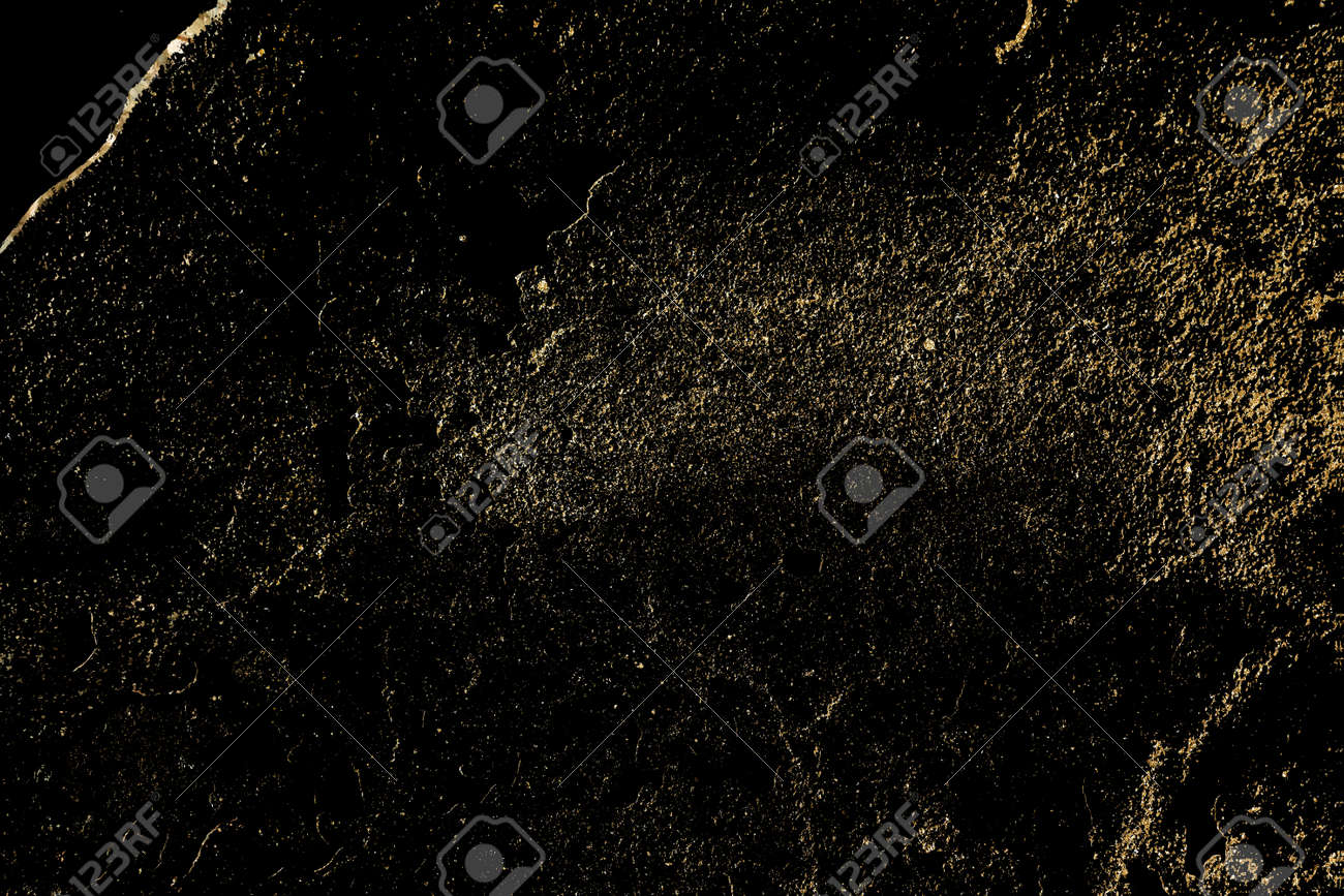 Luxury texture with gold distressed elements, - 164048842