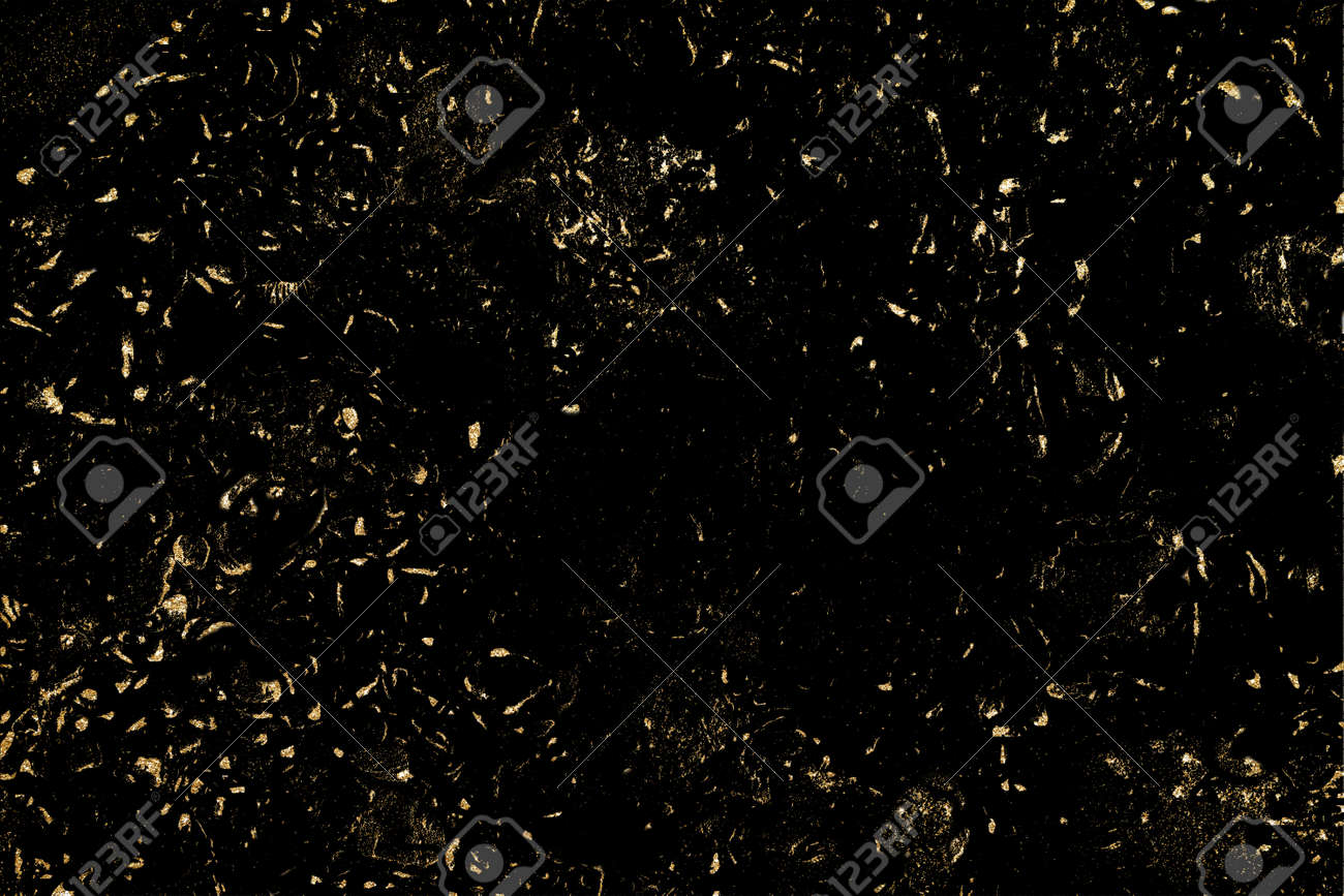 Luxury texture with gold distressed elements, - 164896274