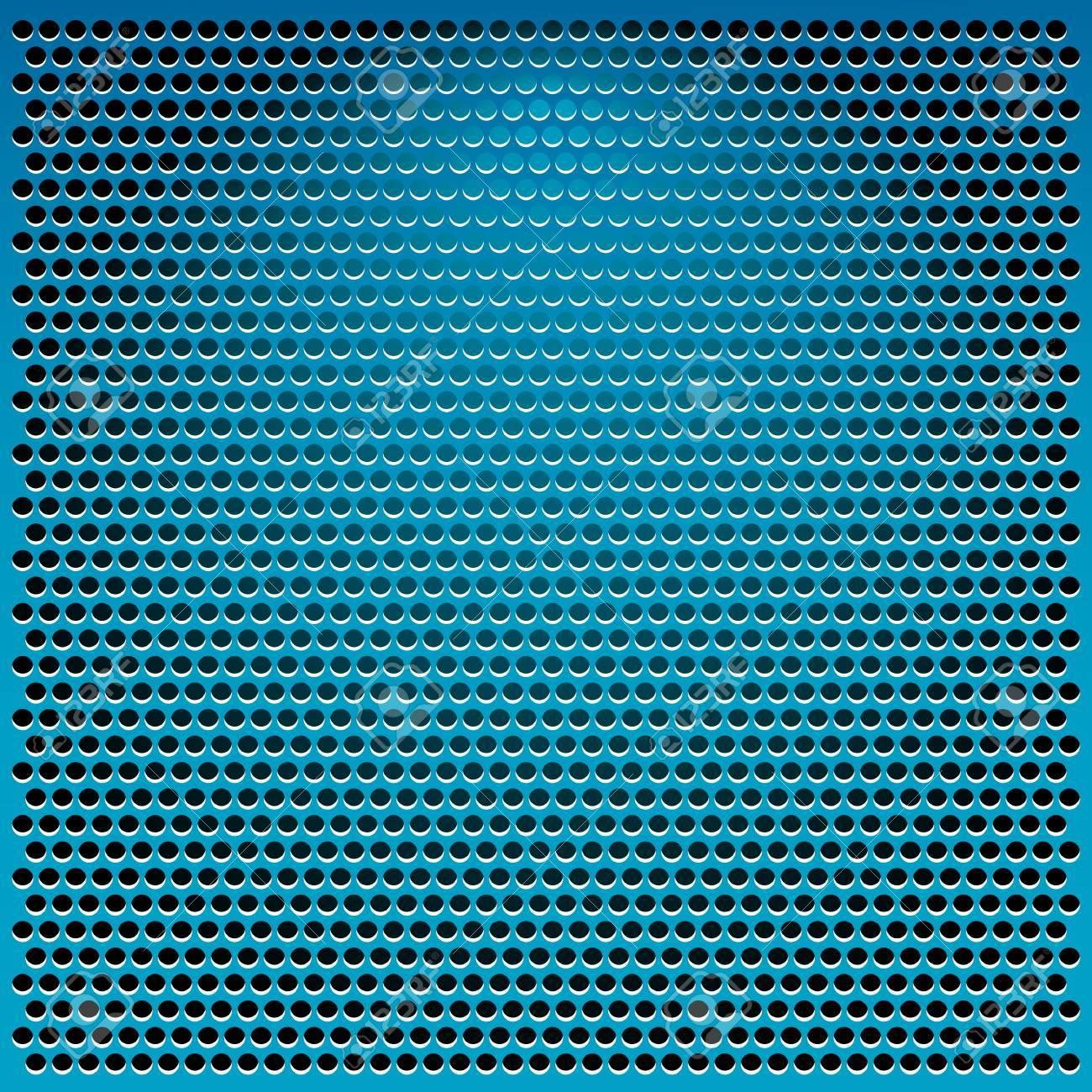 blue metal abstract background illustration Stock Illustration - 11945852