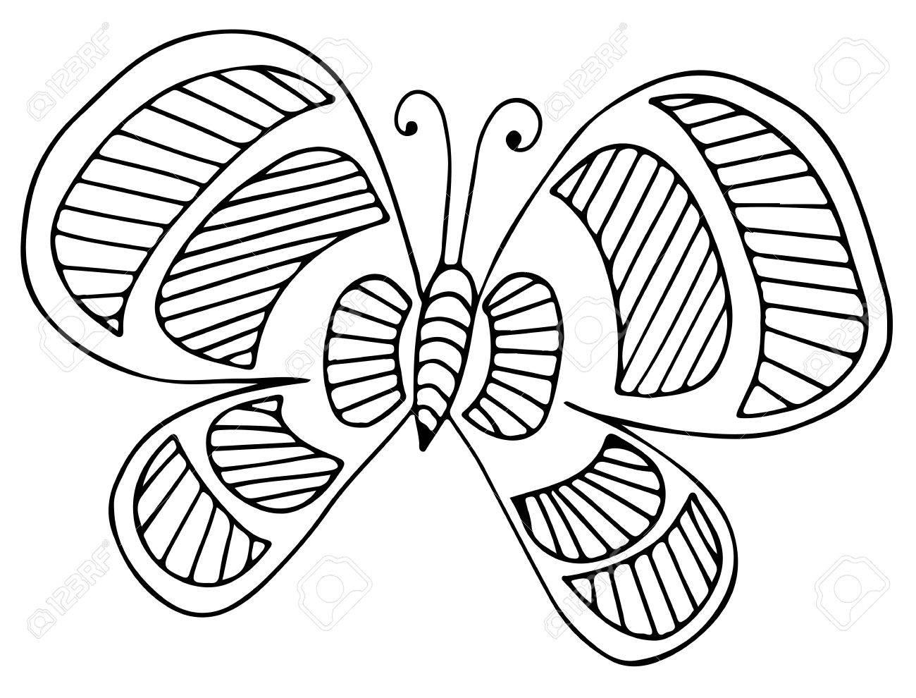 Mariposa Negro Línea De Tarjetas De Felicitación, Libros Para ...