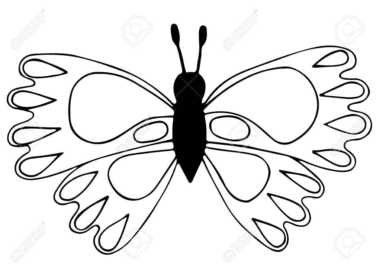 Nett Schmetterling Und Libelle Malvorlagen Zeitgenössisch - Beispiel ...