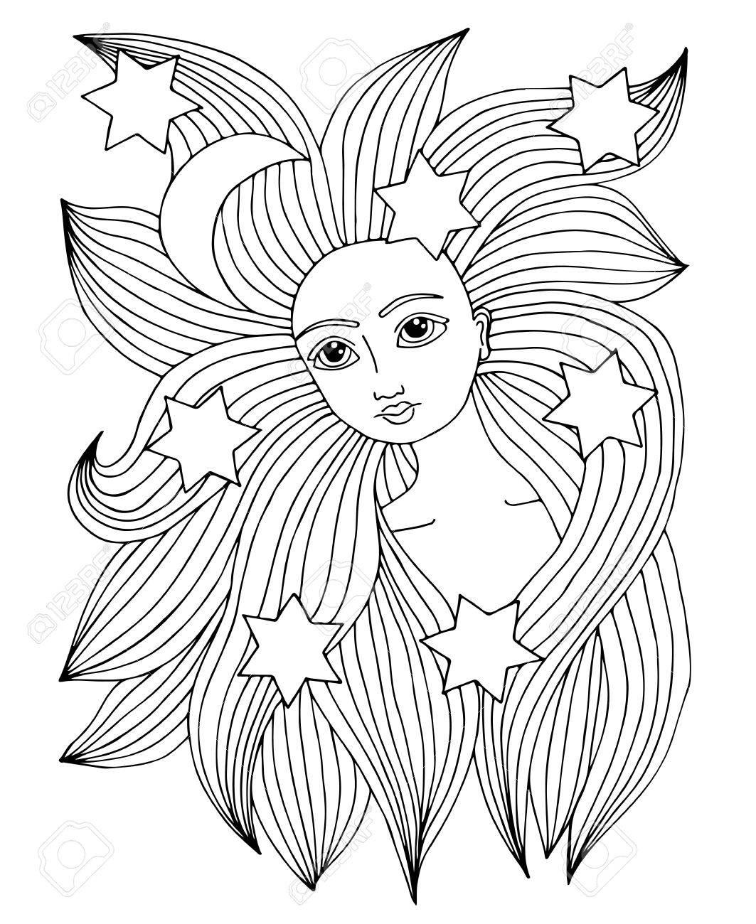 Bonito Página Para Colorear Durmiendo Belleza Molde - Ideas Para ...