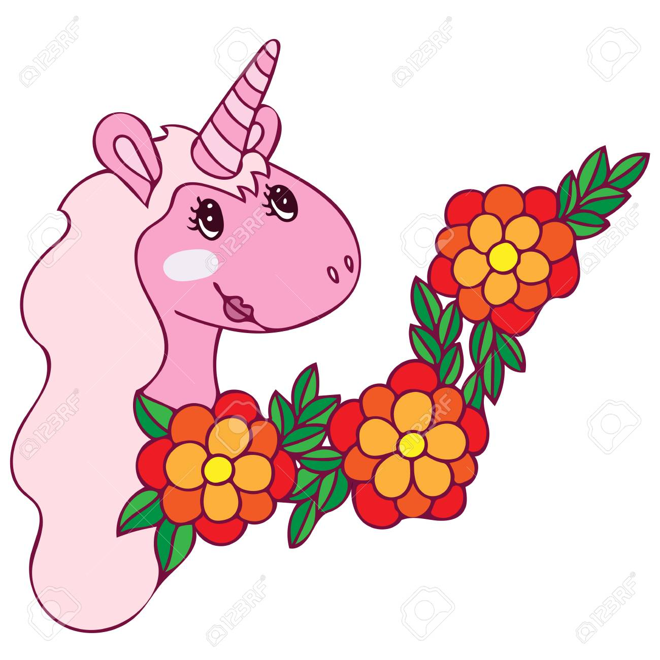 Unicorn For Coloring Book Magical Anima For Coloring Book Pages