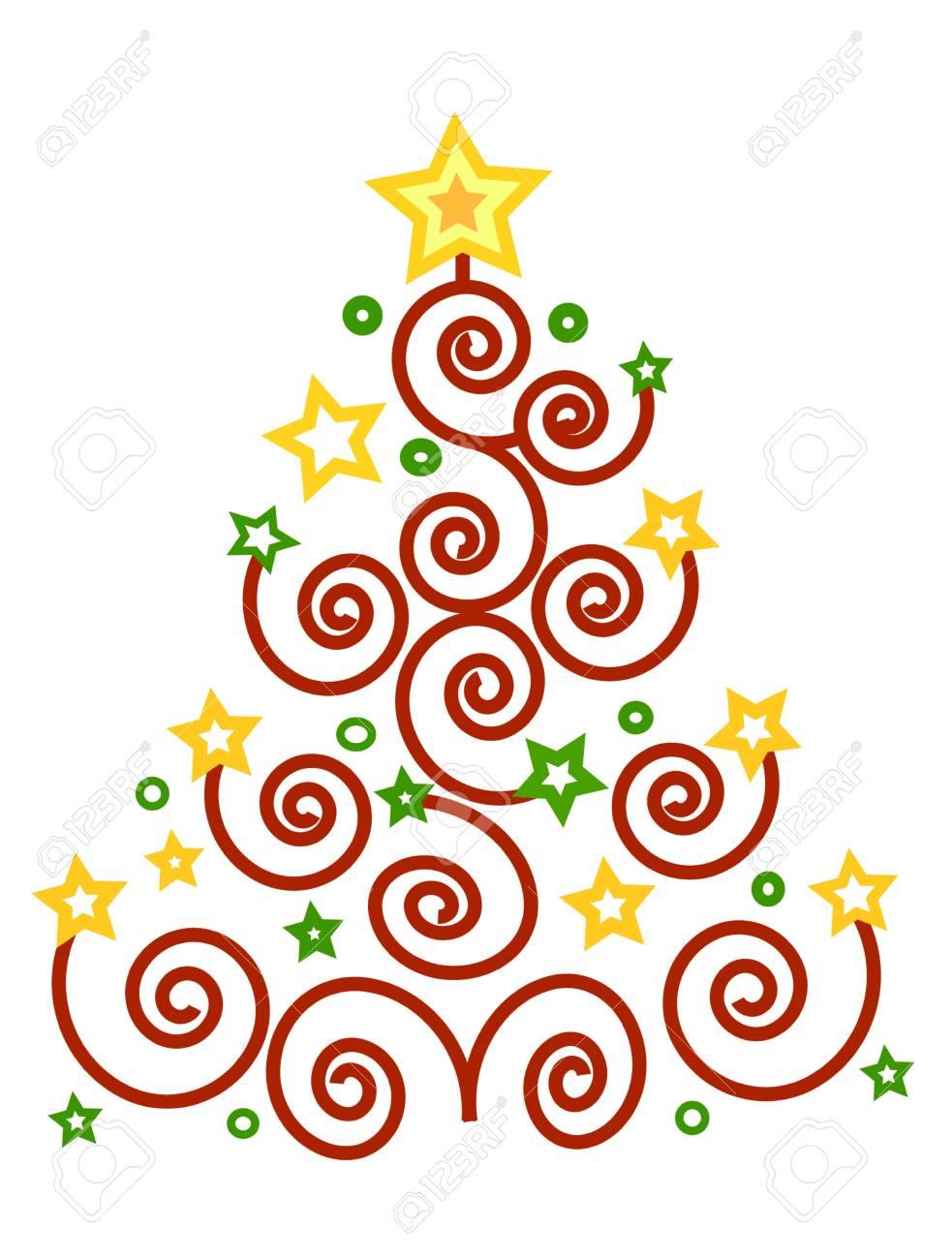 foto Christmas Spirals