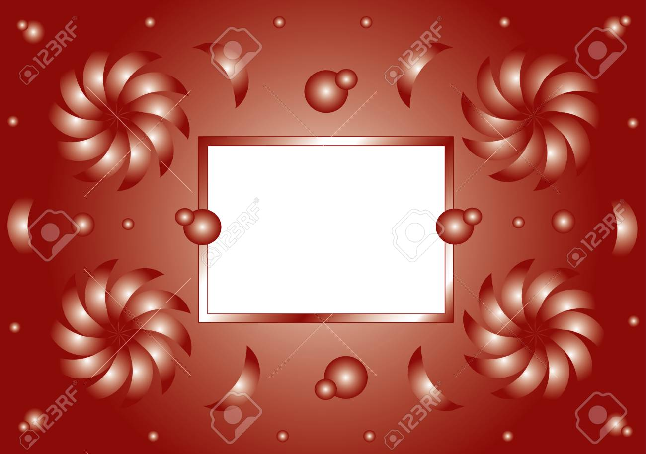 Patterned frame background for your text vector Stock Vector - 8594924