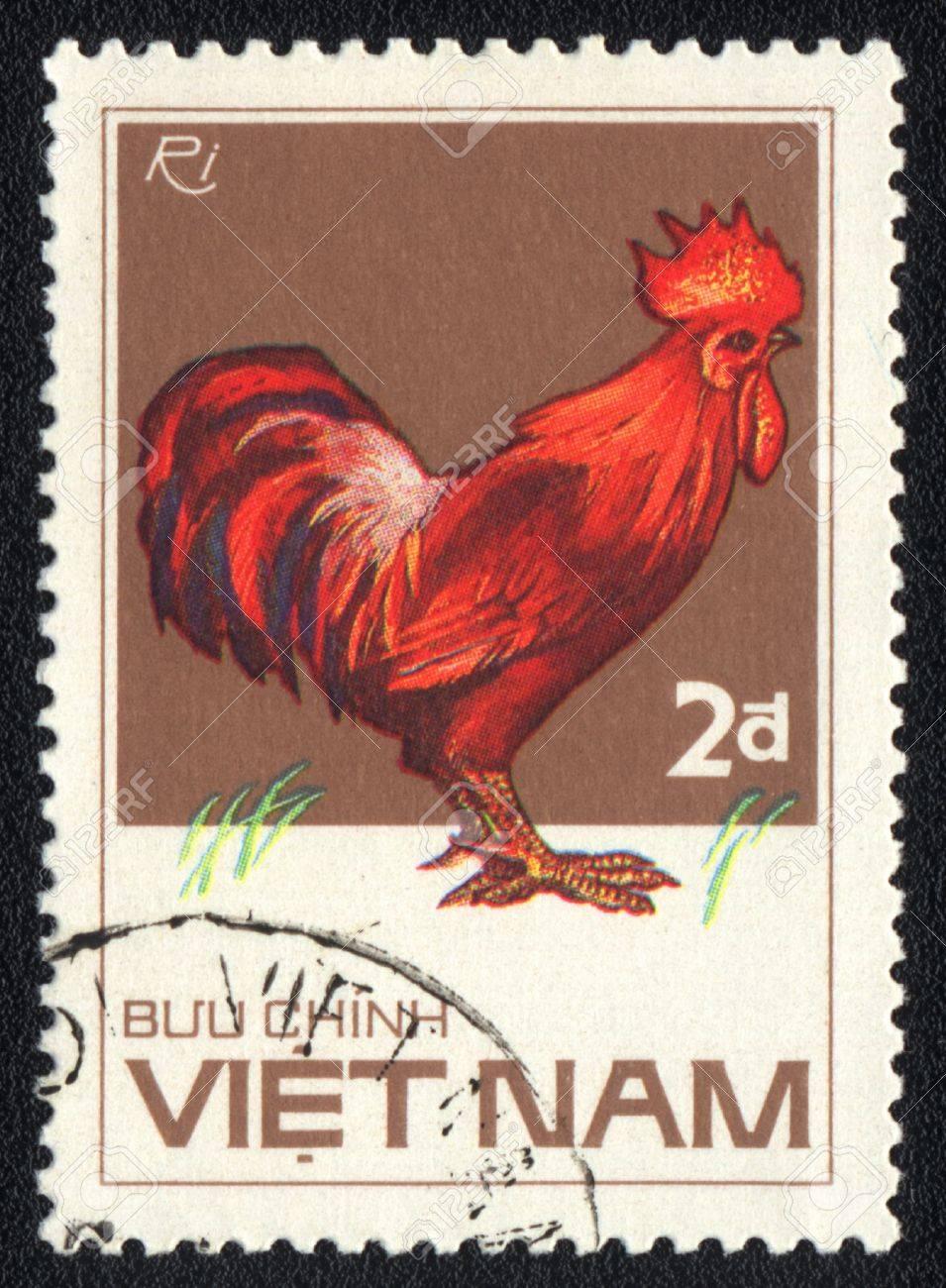 vietnam circa 1985 a stamp printed in vietnam shows rhode