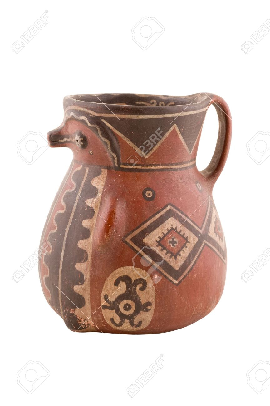 south american aboriginal artwork isolated stock photo picture