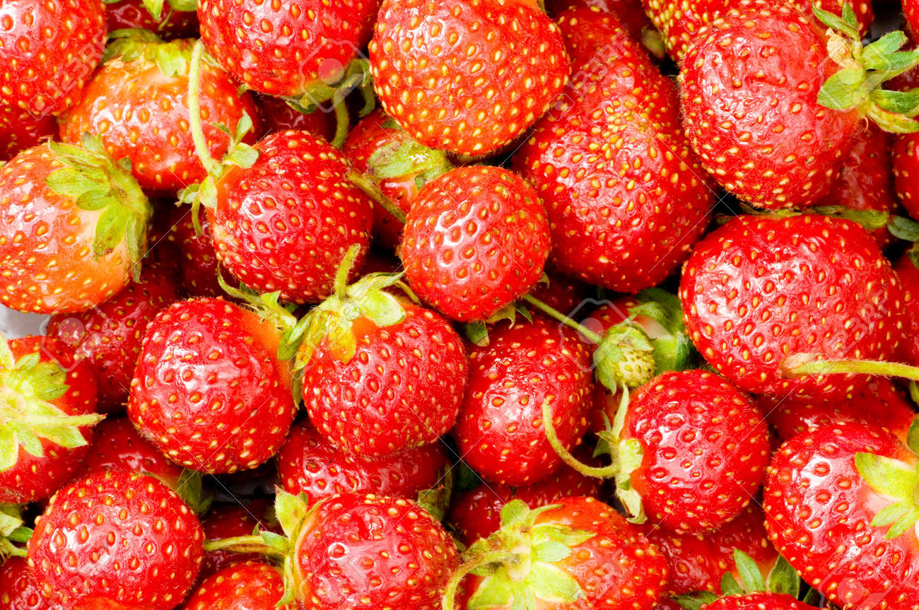 Lots of strawberries arranged as the background Stock Photo - 3328131