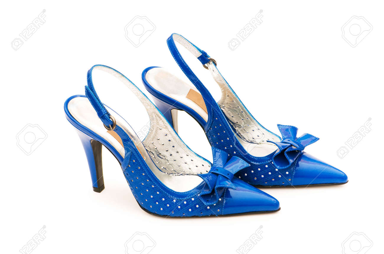 Woman shoes isolated on the white background Stock Photo - 5658200