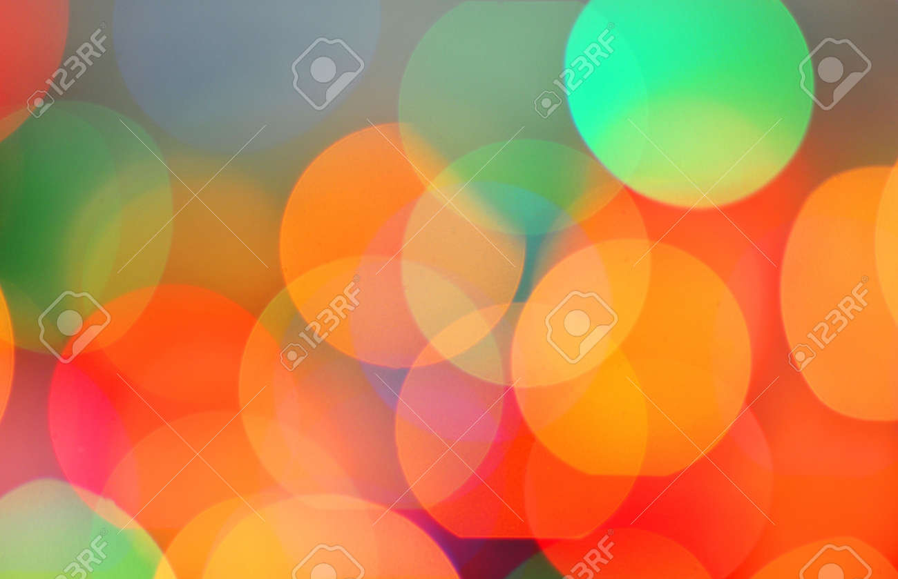 Blurred colourful lights at Light Colourful Backgrounds