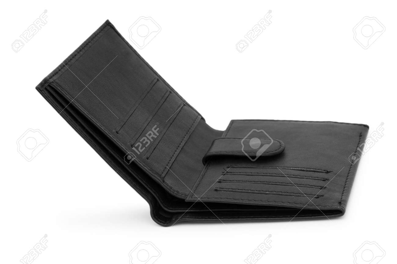 Wallet isolated on the white background Stock Photo - 6836668