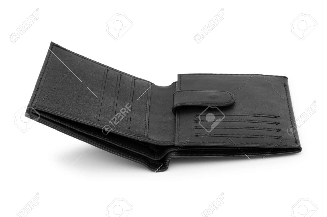 Wallet isolated on the white background Stock Photo - 6850654