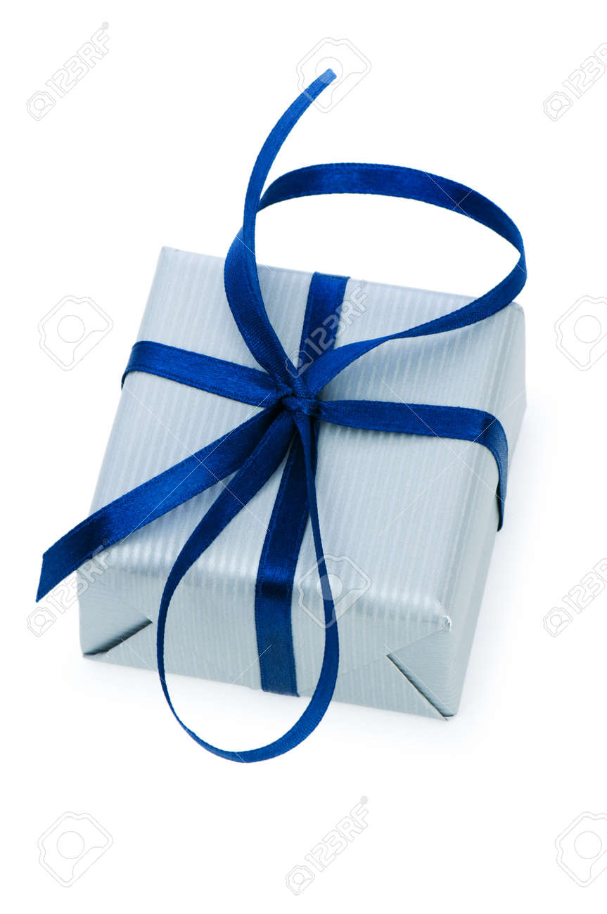 Gift box isolated on the white background Stock Photo - 6850510