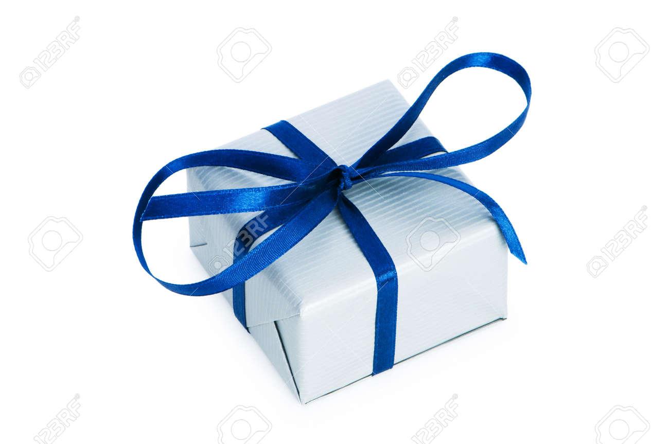 Gift box isolated on the white background Stock Photo - 6986977