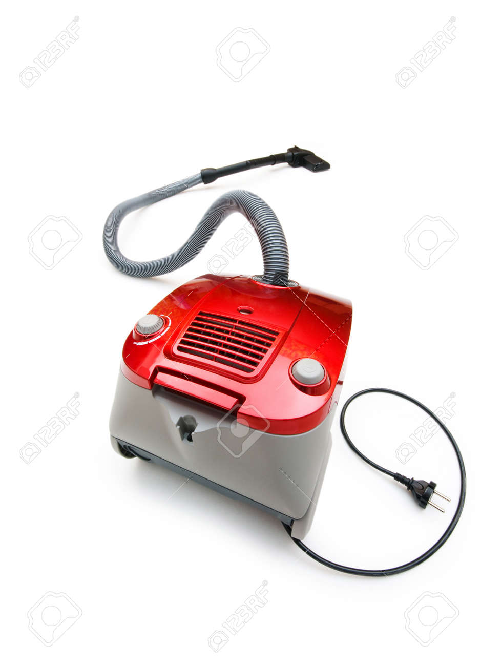 Vacuum cleaner isolated on the white background Stock Photo - 7045684
