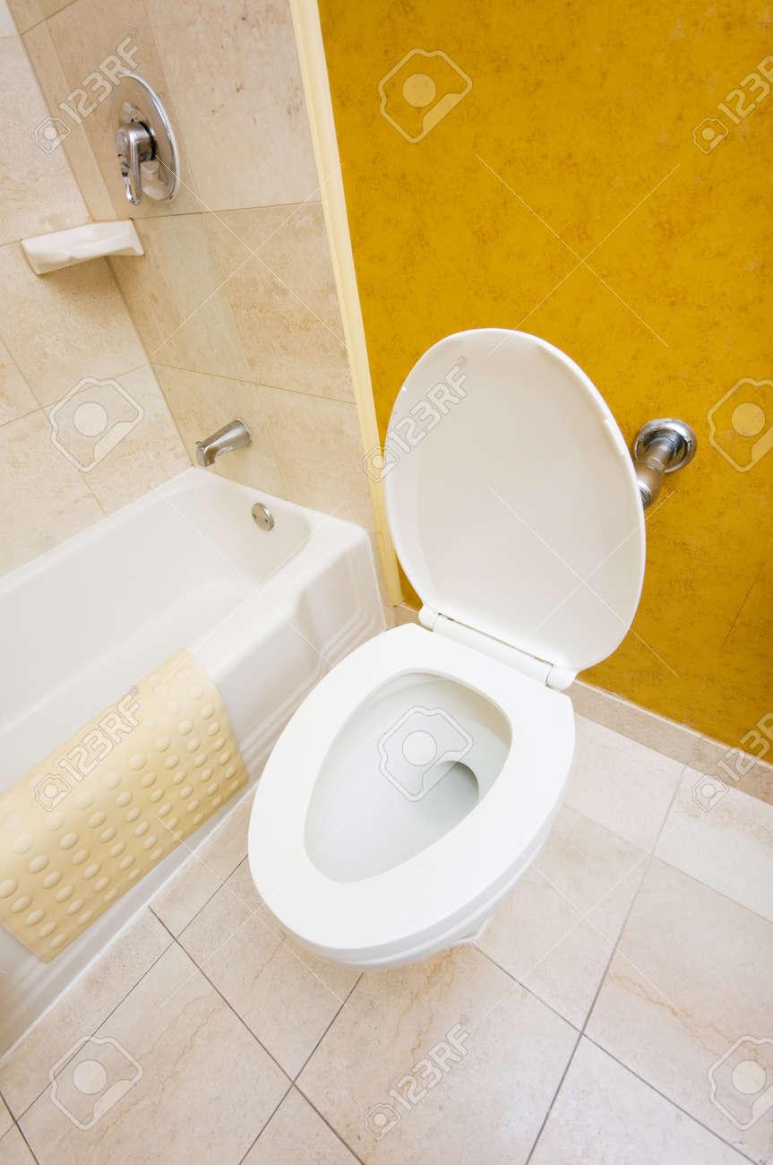 Toilet in the bathroom Stock Photo - 7045806