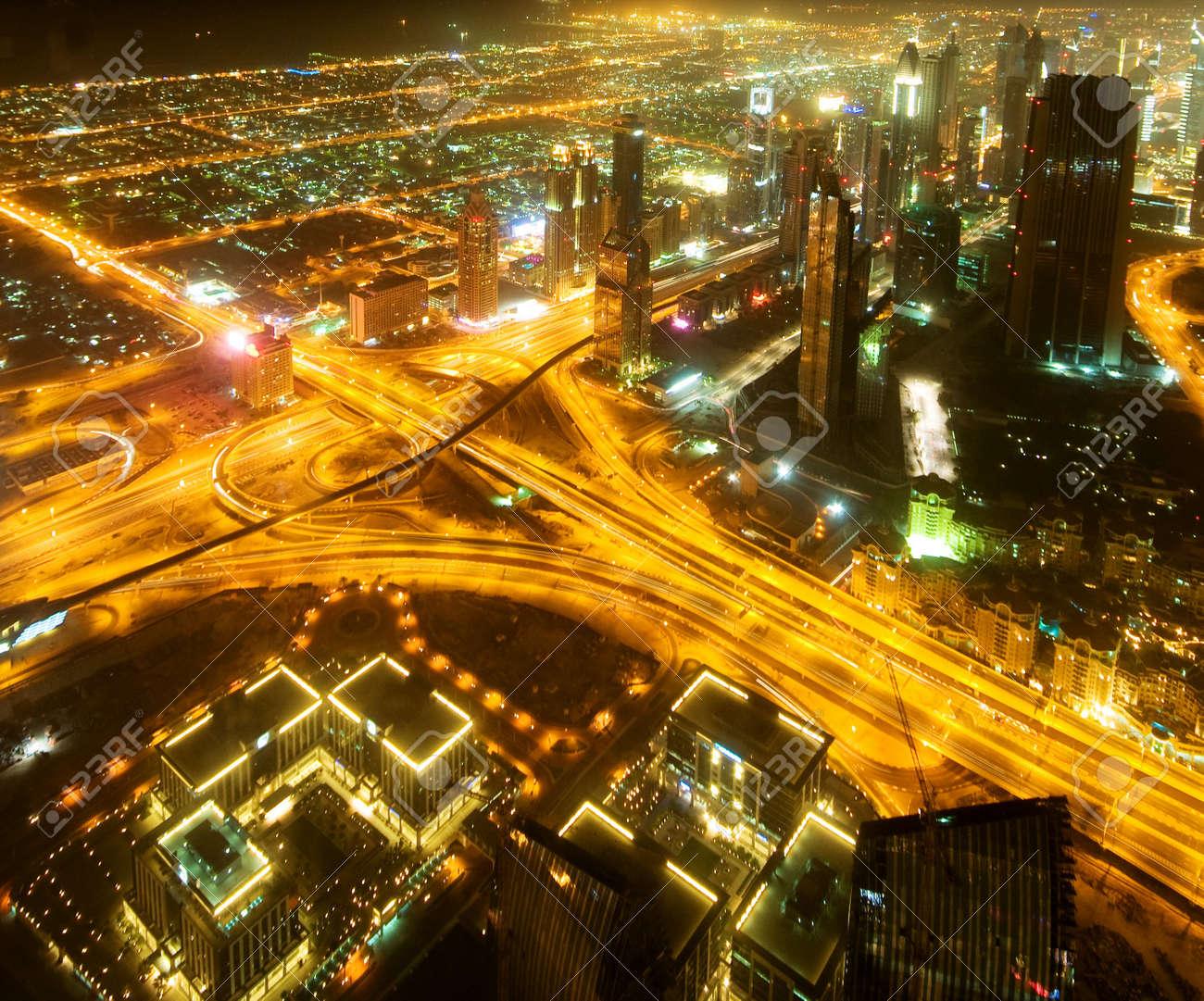 Down town of Dubai city Stock Photo - 7229180