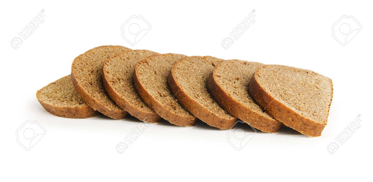 Sliced bread isolated on the white background Stock Photo - 7633665