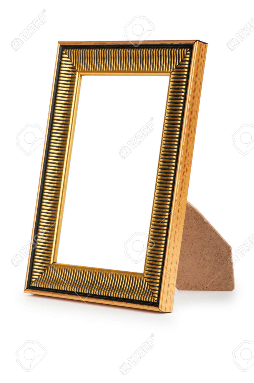 Picture frame isolated on the white background Stock Photo - 8737832