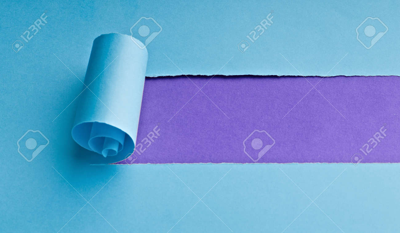 Torn paper with space for your message Stock Photo - 8943721