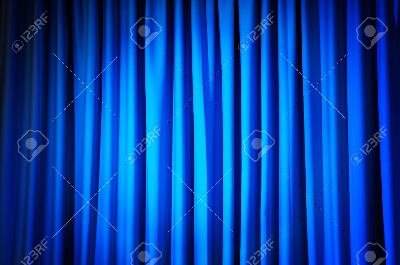 Brightly lit curtains for your background Stock Photo - 9542146