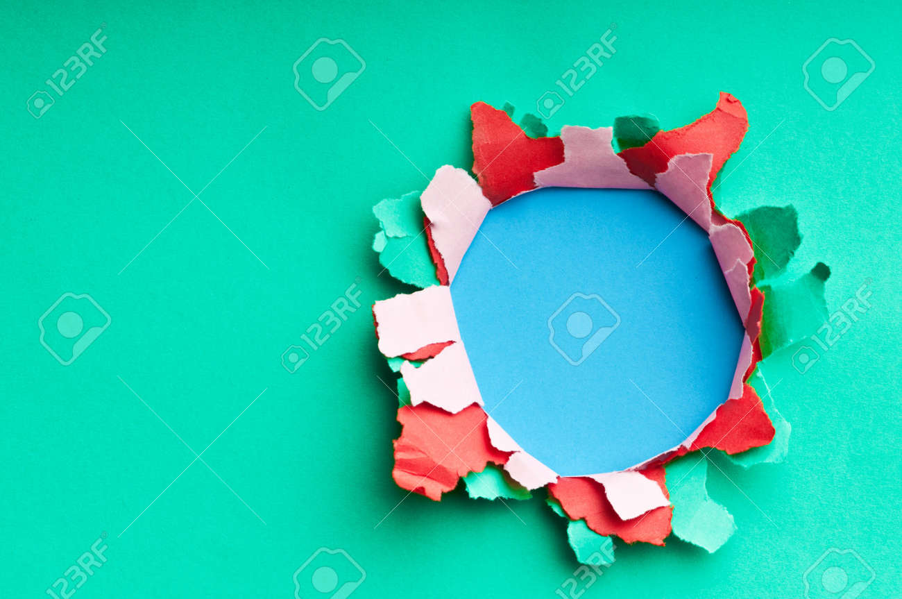 Torn paper with space for your message Stock Photo - 9546552